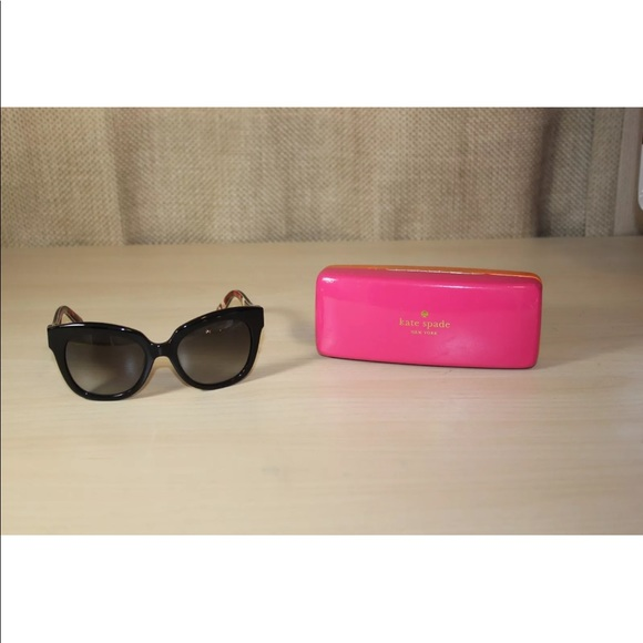 b86259ce7b kate spade Accessories - Kate Spade Amberly Cat Eye Sunglasses Black